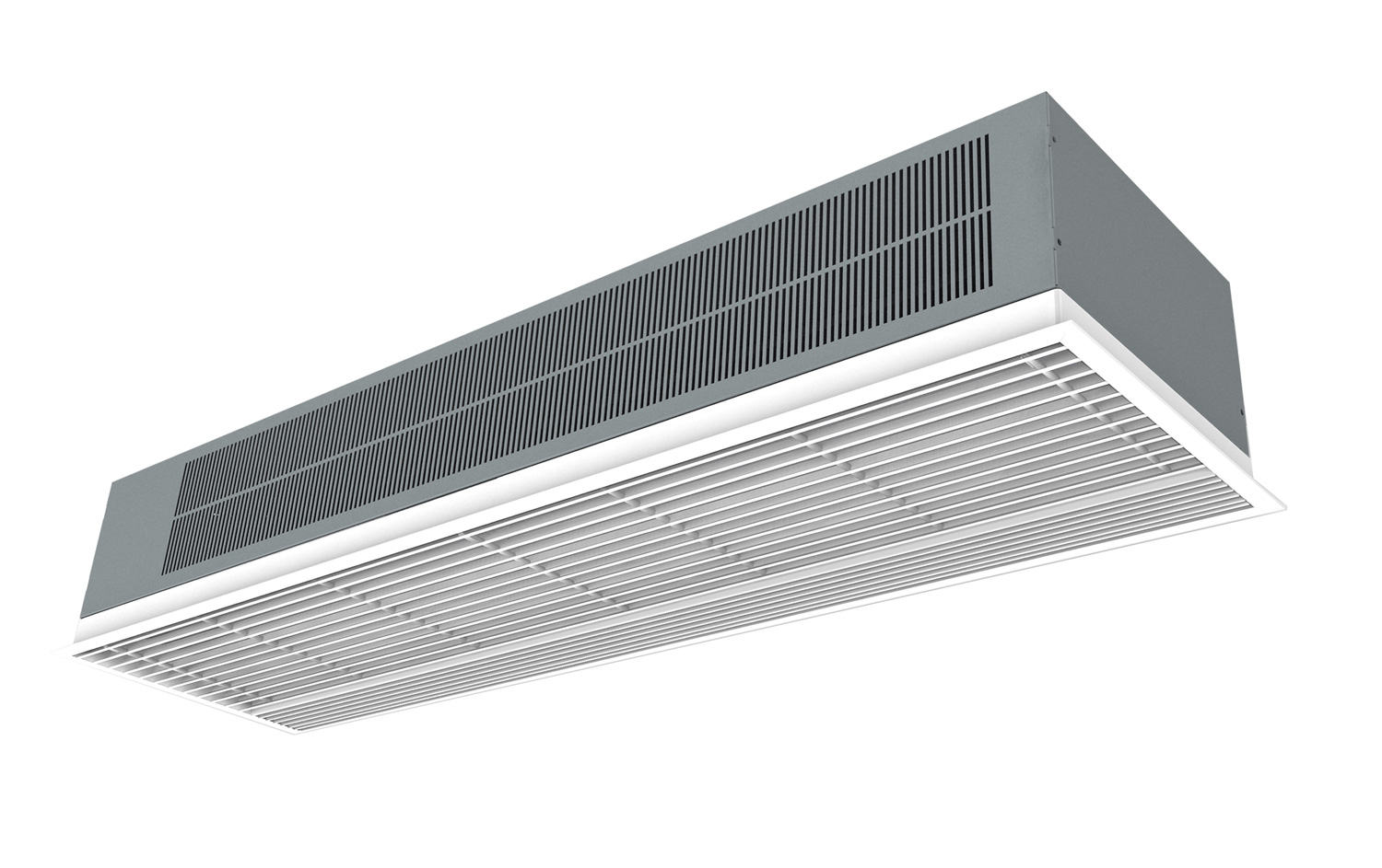 recessed airtecnics product curtains prod horizontal windbox cold curtain mount hot air panel