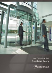 Air Curtains for Revolving Doors