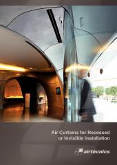 Recessed Air Curtains