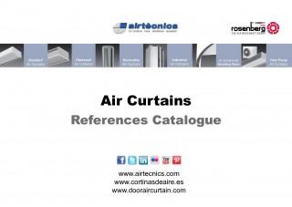 Catálogo Referencias Cortinas de Aire