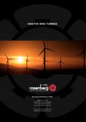 Ventiladores para Aerogeneradores
