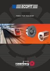 Ventiladores para Ferrocarriles