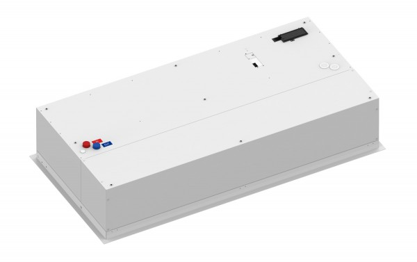 Cortina de ar embutida Windbox