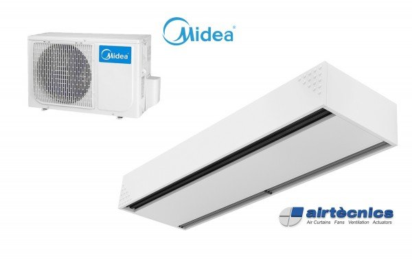 Heat Pump Air curtain Dam DX for MIDEA