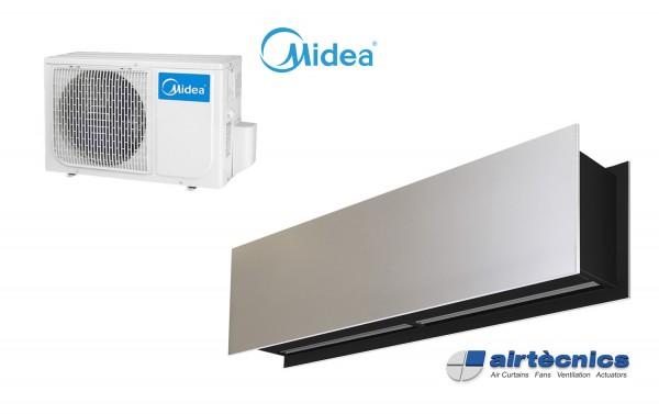 Heat Pump Air curtain Zen DX for MIDEA