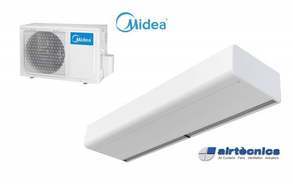 Barriera d'aria Smart DX in pompa di calore per MIDEA