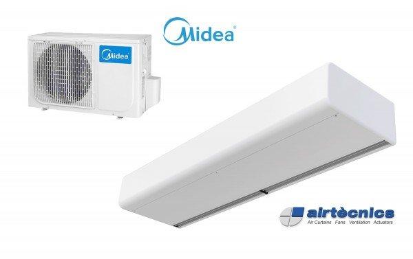 Heat Pump Air curtain Smart DX for MIDEA
