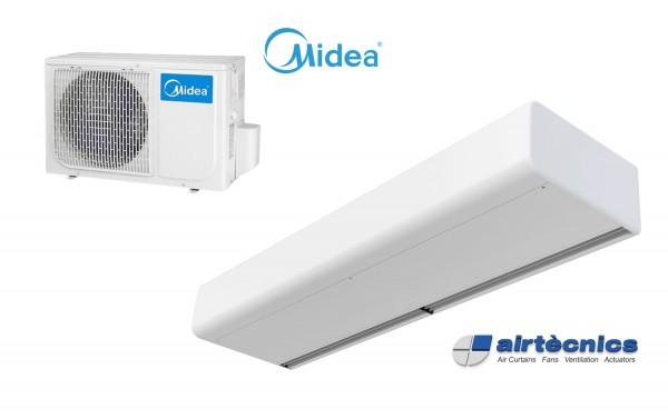 Kurtyna powietrzna Smart DX do pompy ciepła MIDEA