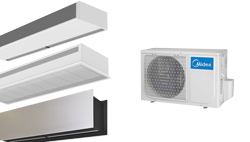 Air Curtains Heat Pump Midea