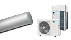 Heat Pump Air curtain Rund DX for DAIKIN