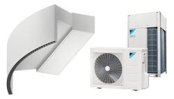 Heat Pump Air curtain Rotowind DX for DAIKIN