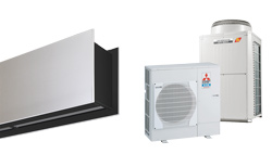 Heat Pump Air curtain Zen DX for MITSUBISHI ELECTRIC