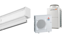 Hőszivattyú Légfüggöny Invisair DX for MITSUBISHI ELECTRIC