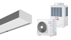 Heat Pump Air curtain Windbox for TOSHIBA
