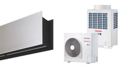 Vzduchová clona Zen DX pro tepelné čerpadlo TOSHIBA