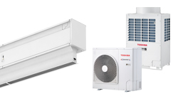 Heat Pump Air curtain Invisair DX for TOSHIBA