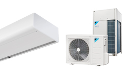 Smart DX varmepumpebasert luftgardin for DAIKIN
