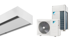 Heat Pump Air curtain Dam DX for DAIKIN