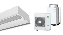 Heat Pump Air curtain Recessed Windbox for HITACHI
