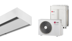 Heat Pump Air curtain Dam DX for LG