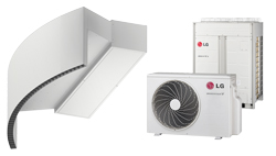 Vzduchová clona Rotowind DX pro tepelné čerpadlo LG