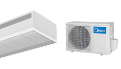 Barriera d'aria Recessed Dam DX in pompa di calore per MIDEA