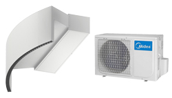 Heat Pump Air curtain Rotowind DX for MIDEA
