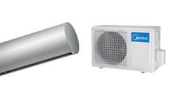 Heat Pump Air curtain Rund DX for MIDEA