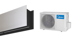 Heat Pump Air curtain Zen DX for MIDEA