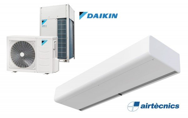 Smart DX varmepumpebasert luftgardin for DAIKIN