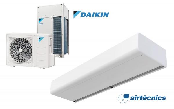Rideau d'air Smart DX avec pompe à chaleur pour DAIKIN