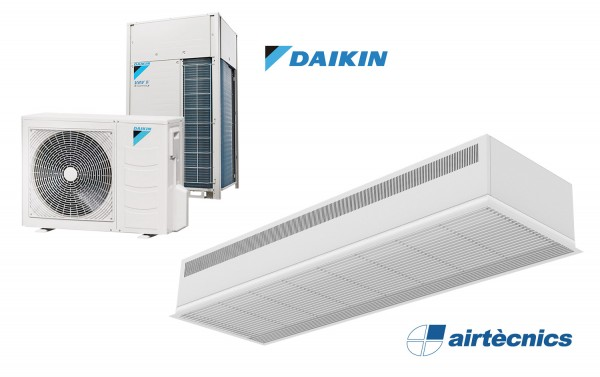 Heat Pump Air curtain Recessed Dam DX for DAIKIN