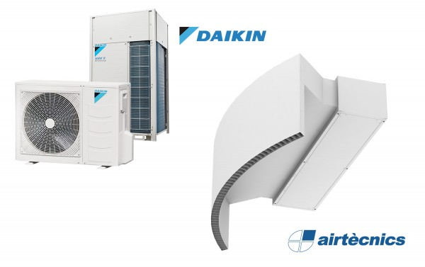 Warmtepomp Luchtgordijn Rotowind DX voor DAIKIN