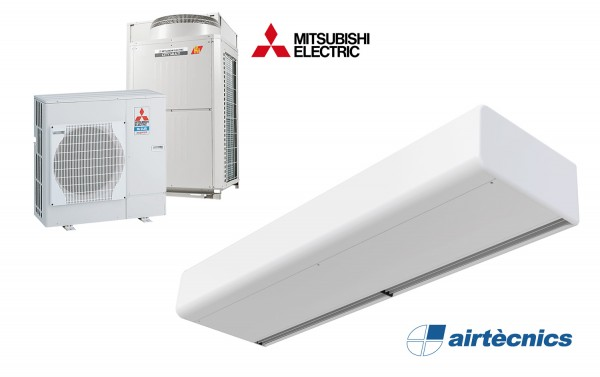 Cortina de aire Smart DX para Bomba de Calor MITSUBISHI ELECTRIC