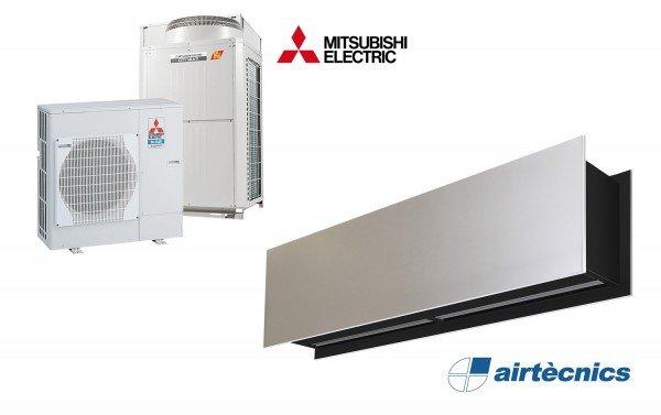 Heat Pump Air curtain Zen DX for MITSUBISHI ELECTRIC