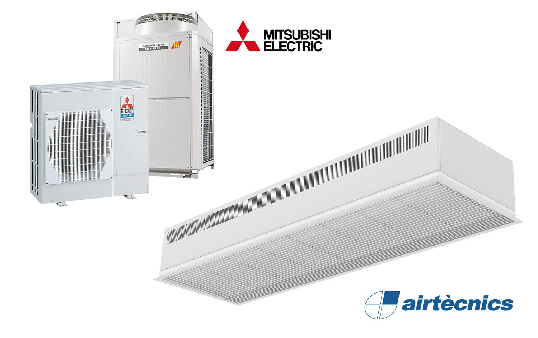 Mitsubishi Electric Vrf Price List Excellent Electrical Wiring System Recessed Dam Dx Air Curtain For Heat Pump Rh Airtecnics Com Logo Hitachi
