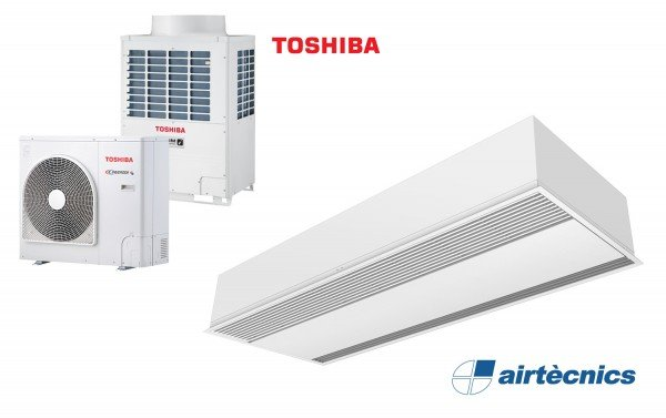 Barriera d'aria Recessed Windbox DX per TOSHIBA