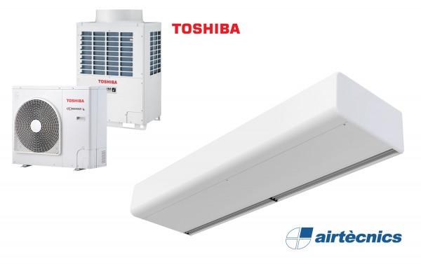 Warmtepomp Luchtgordijn Smart DX voor TOSHIBA