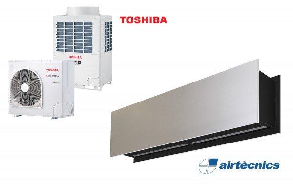 Heat Pump Air curtain Zen DX for TOSHIBA