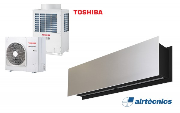 Heat Pump Air curtain Zen DX for TOSHIBA