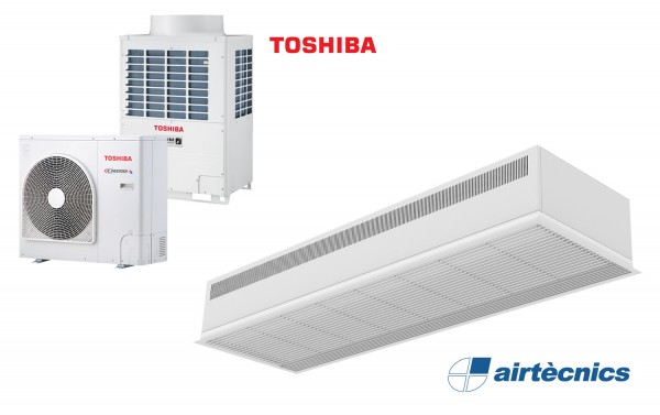 Heat Pump Air curtain Recessed Dam DX for TOSHIBA