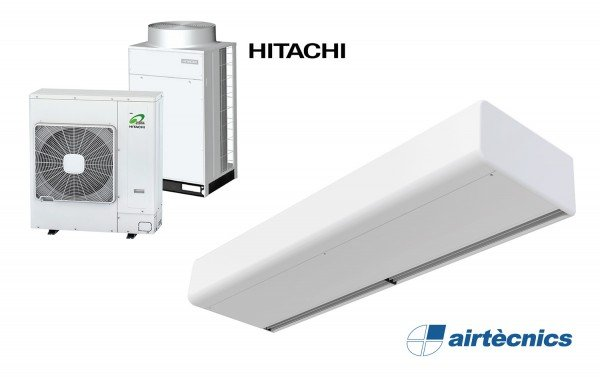 Cortina d'aire Smart DX per Bomba de Calor HITACHI