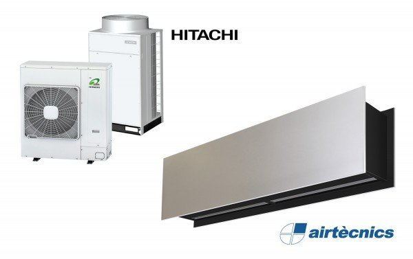 Heat Pump Air curtain Zen DX for HITACHI