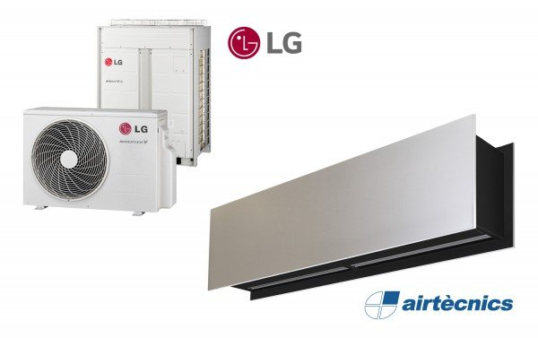 Barriera d'aria Zen DX in pompa di calore per LG