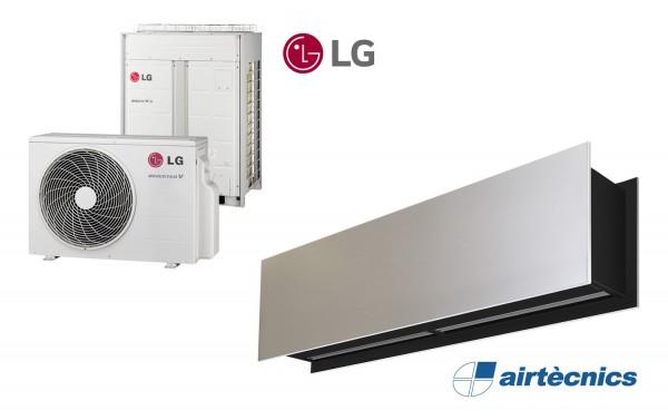 Воздушная завеса Zen DX с Тепловым Насосом LG