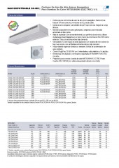 Recessed Dam DX Mitsubishi Electric 1_1 y VRF