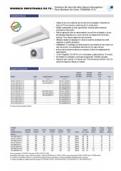 Recessed Windbox DX Toshiba 1_1 y VRF