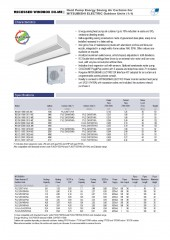 Recessed Windbox DX Mitsubishi Electric 1_1 and VRF