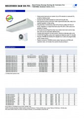 Recessed Dam DX Toshiba 1_1 and VRF