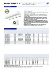 Recessed Windbox DX Toshiba 1_1 and VRF